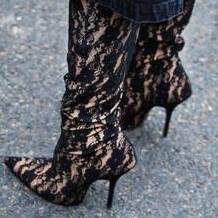 Ultra-flattering sock boots
