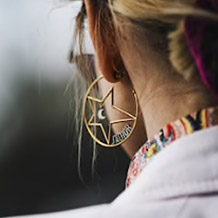 Statement earrings